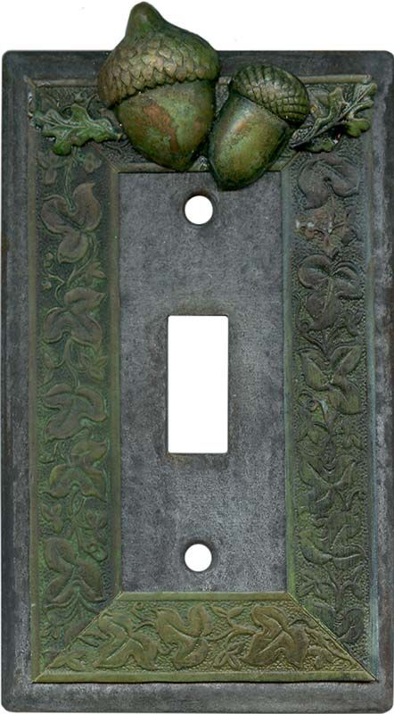Acorn Light Switch Plates, Outlet Covers, Wallplates