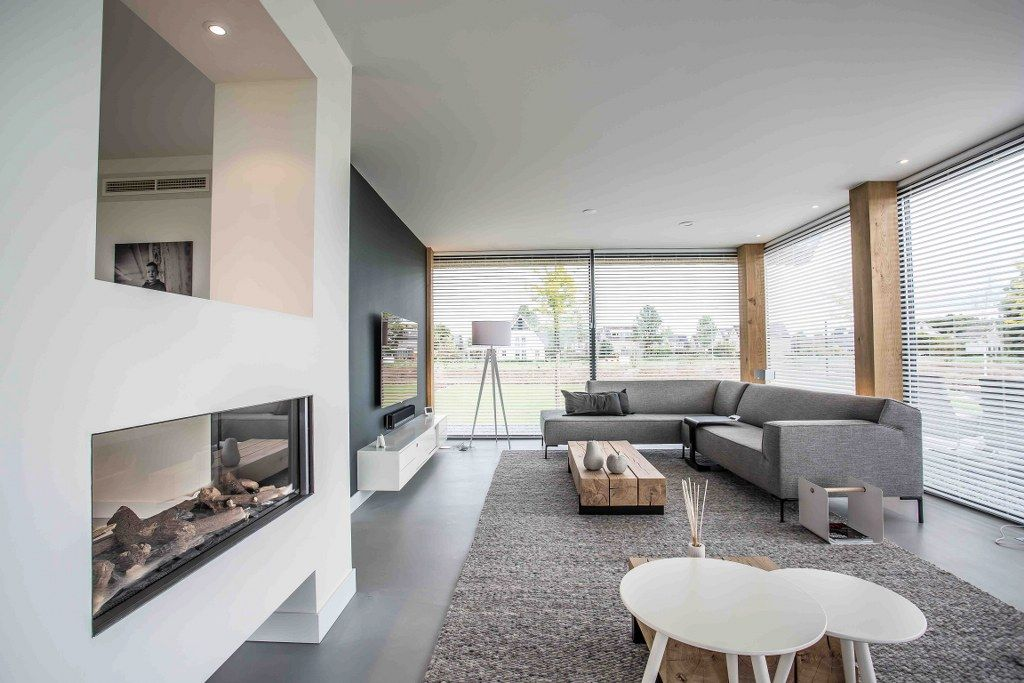Zwaartafelen i inspiratie scandinavisch interieur i mooie