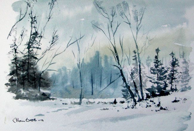 Loose Painting Watercolour Alan Owen Painters Online With