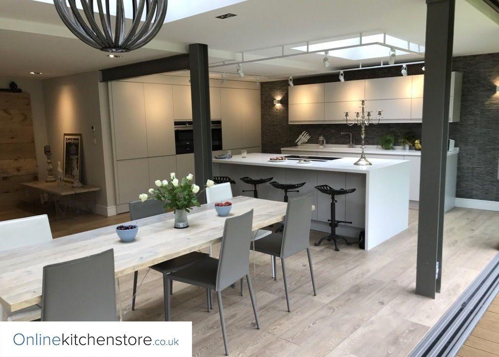 Best Remo Matt Dove Grey With Images Online Kitchen Store 400 x 300