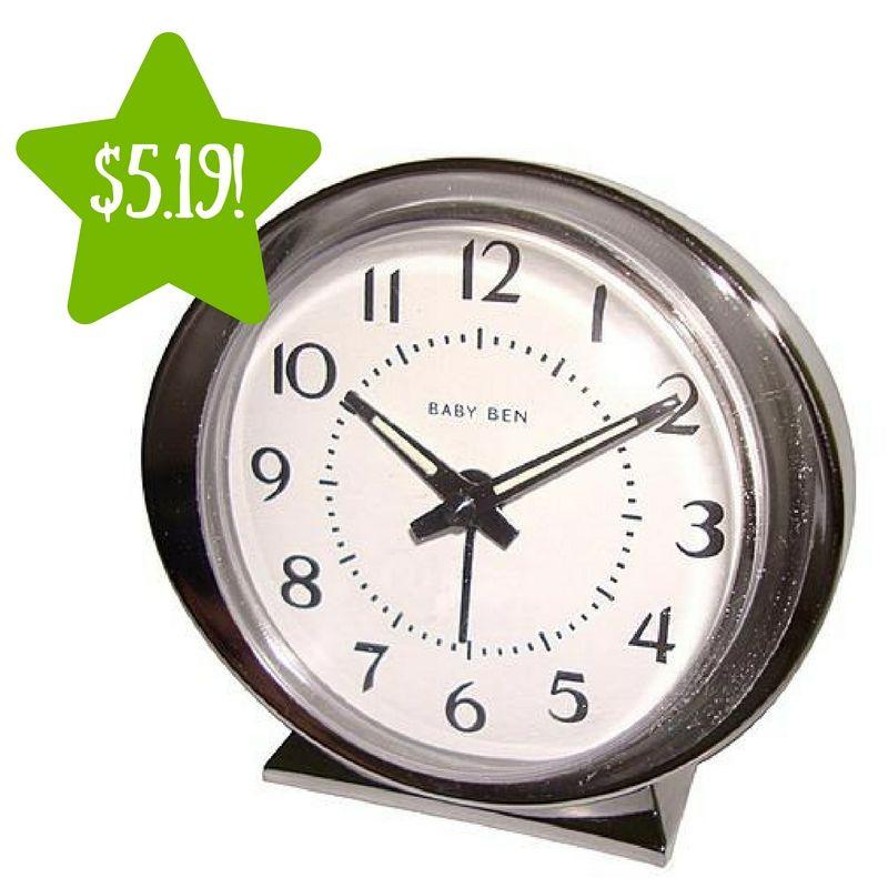 5af6d096b441d Kmart  Babyben White Keywind Alarm Clock Only  5.10 (Reg.  13) - http