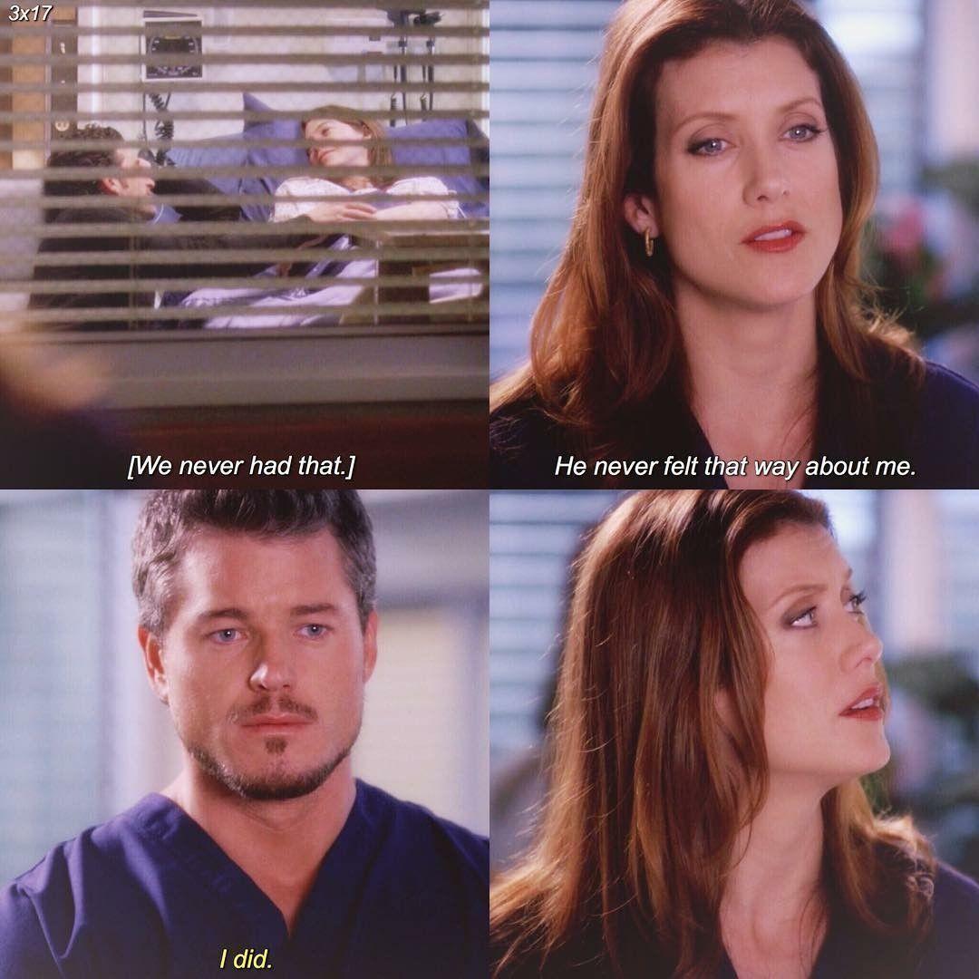 -Addison: nunca tuvimos eso. Él nunca se sintió as