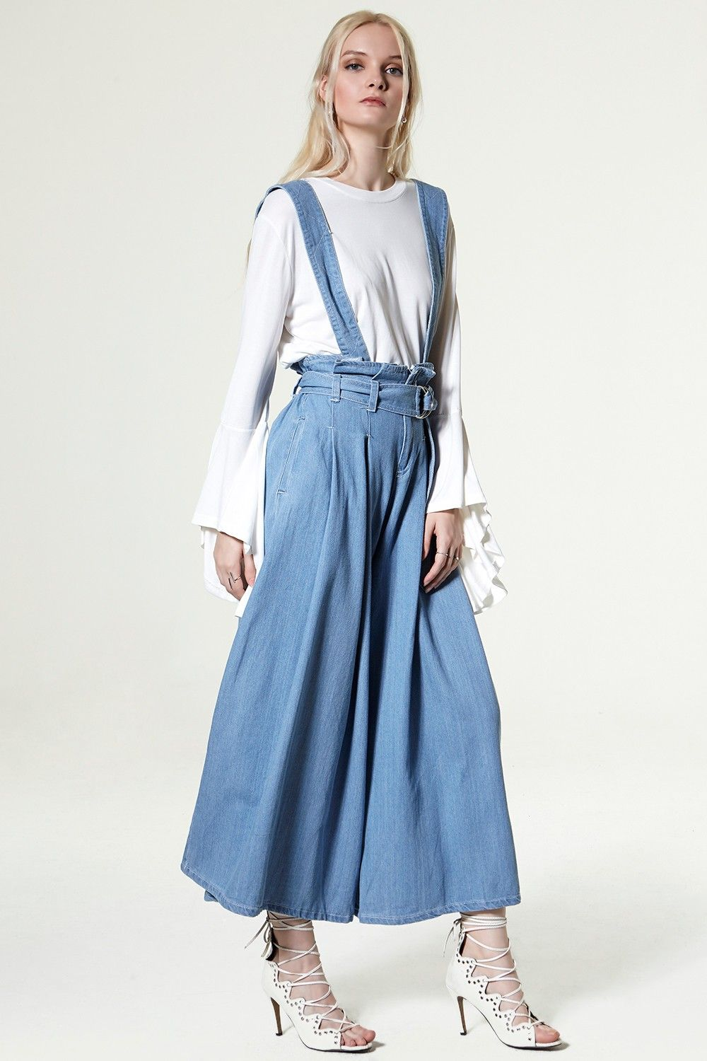 Rolly 2 Way Denim Jumpsuit Discover the latest fashion trends online at storets.com