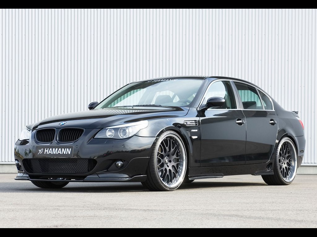 2007 Hamann Bmw 5 Series Front And Driver Side Bmw 6 Series Bmw Bmw 5 Series