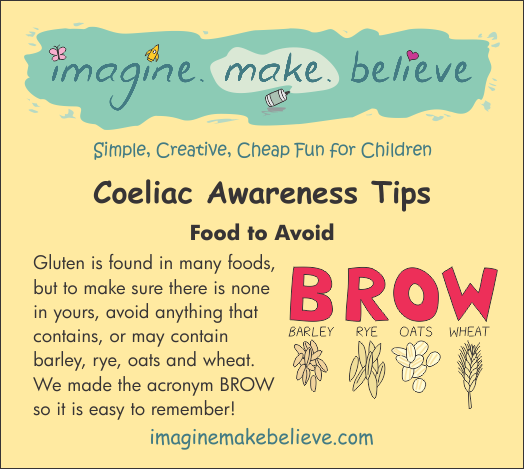 Coeliac Disease - Foods containing gluten, barley, rye ...