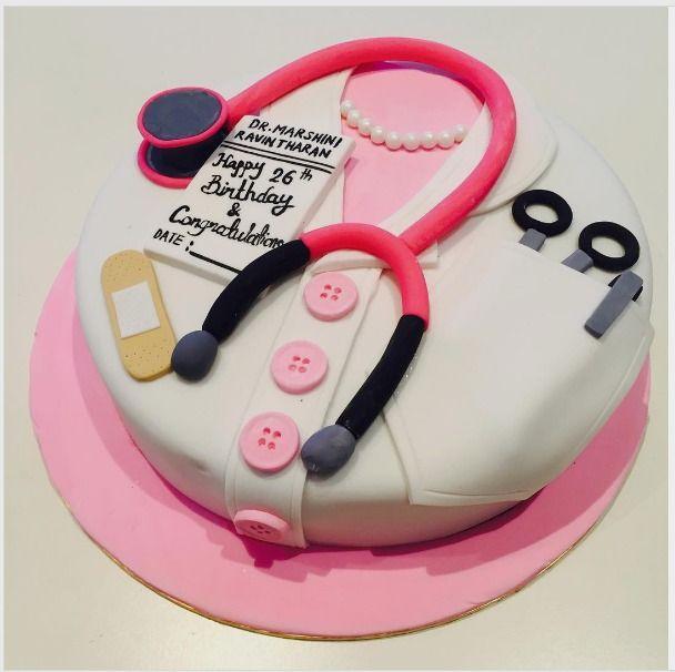 Anniekins Cakehouse on Instagram Doctor themed Birthday cake