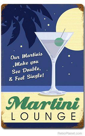 Retro Martini Wall Decor Google Search