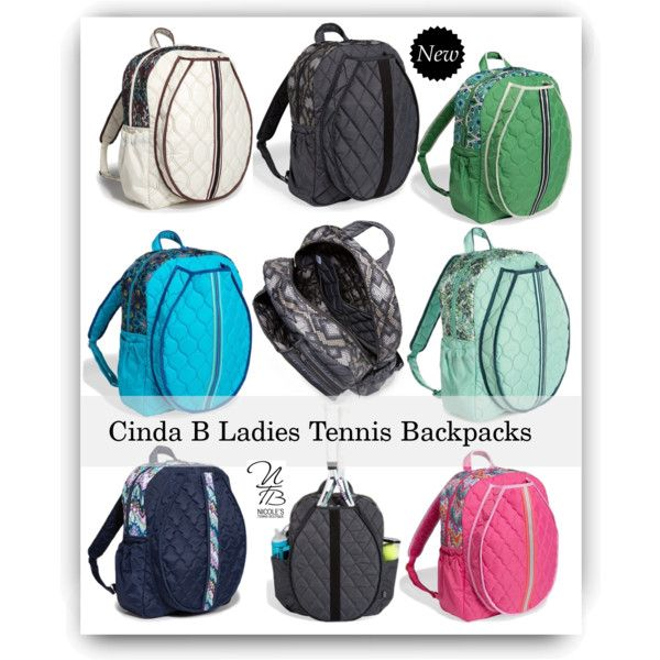 Check out these new Cinda B Ladies Tennis Backpacks at Nicole's Tennis Boutique!