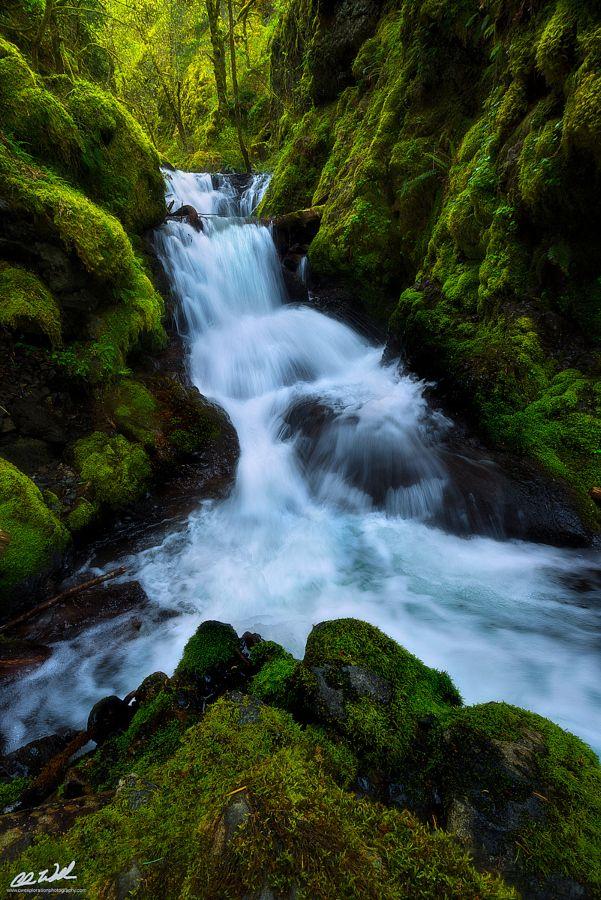 Emerald Falls by Chris  Williams Exploration Photography (Oregon)