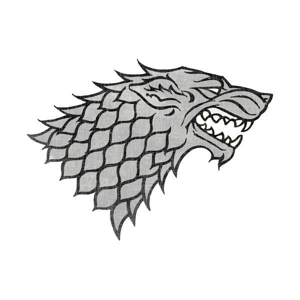 house stark sigil | House stark sigil, Game of thrones