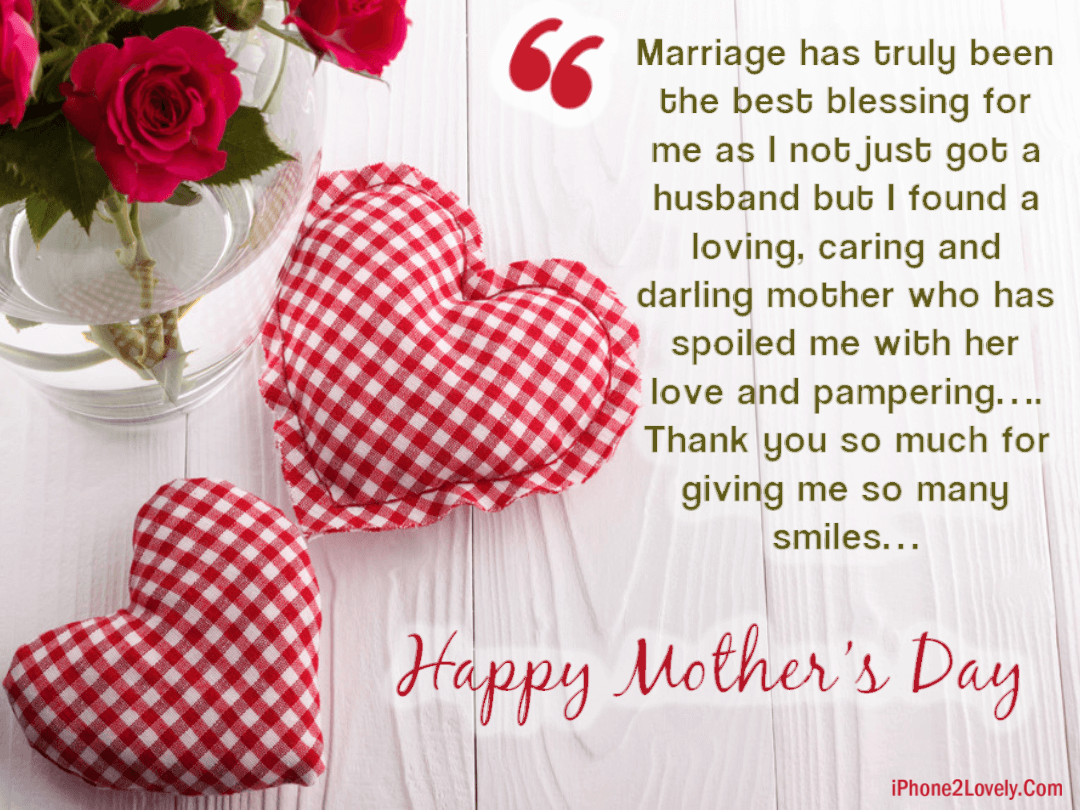 Happy Mother S Day Quotes From Daughter In Law 2019 Mothers Day