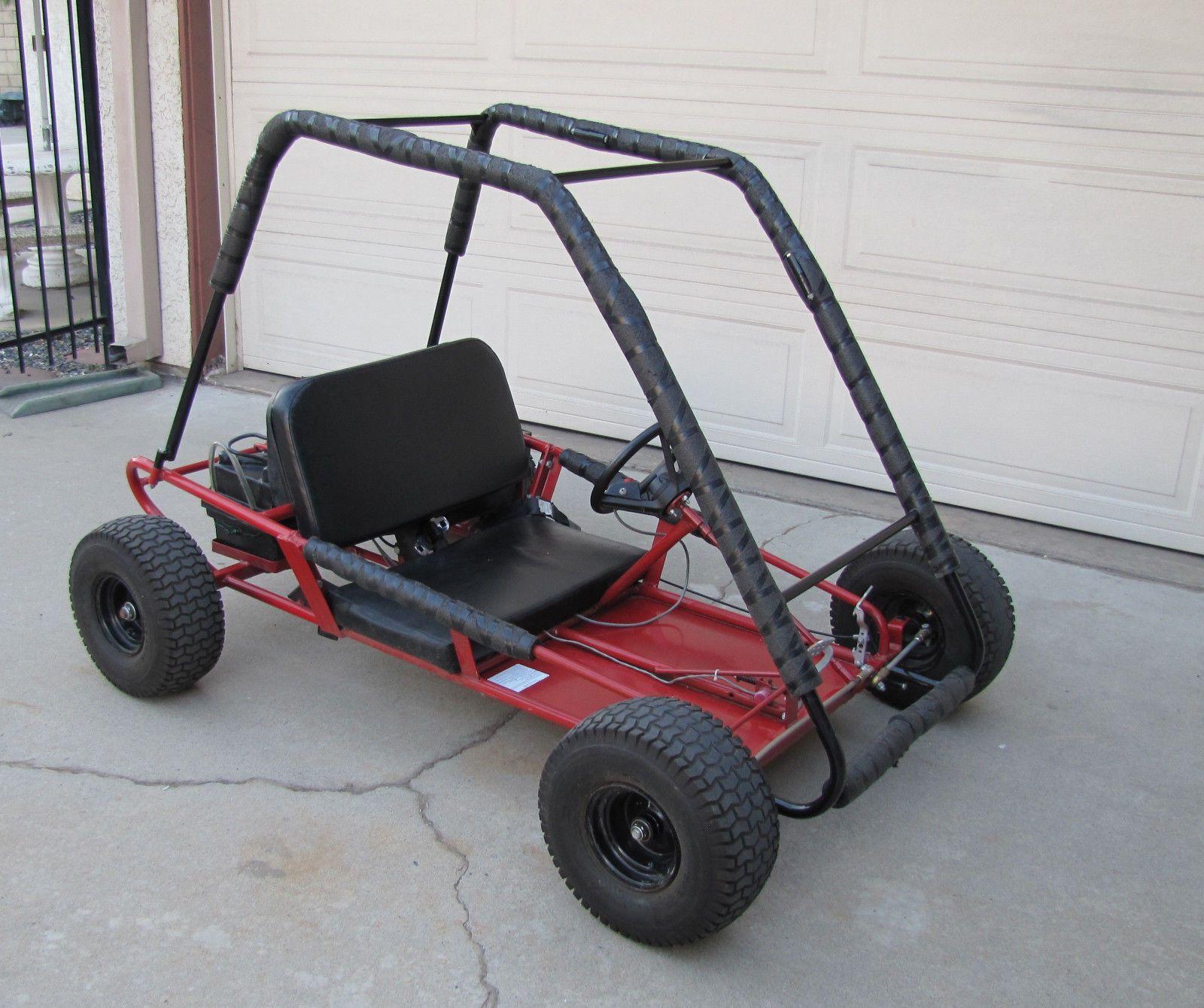 details about working kango electric go kart go cart atv. Black Bedroom Furniture Sets. Home Design Ideas