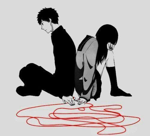 Il silenzio è il filo che unisce due persone che non si comprendono. Così  sottile, pronto a spezzarsi per una fragile… | Immagini, Disegni tristi,  Amore a distanza