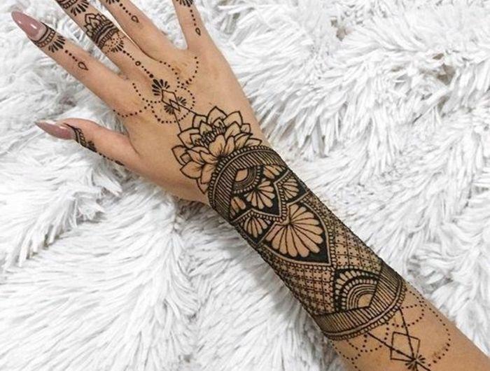 1001 Idees De Tatouage Dentelle Impressionnant Henna