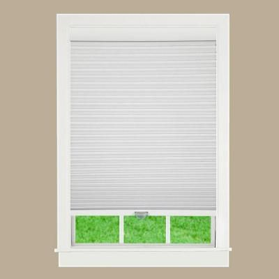 Perfect Lift Window Treatment White 1-1/2 in Cordless Blackout