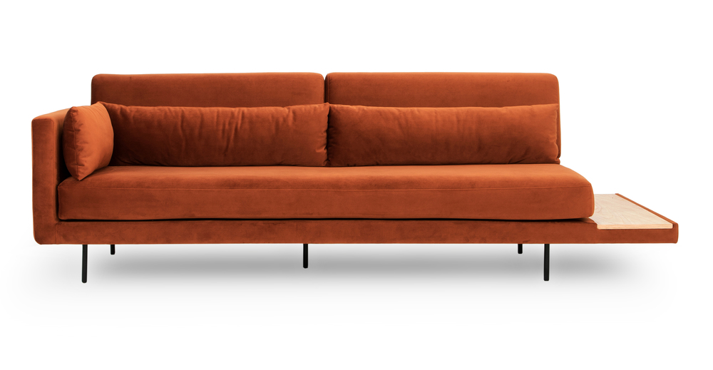 Davenport 95 Sofa Sleeper Rust Velvet Davenport Sofa Best Sleeper Sofa Sleeper Sofa