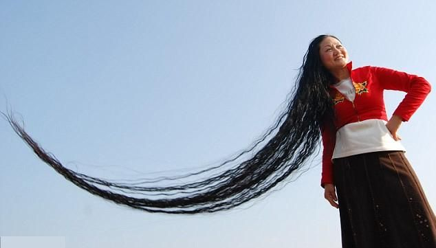 Hair 21 Worlds Longest Hair Long Hair Styles Long Hair Girl