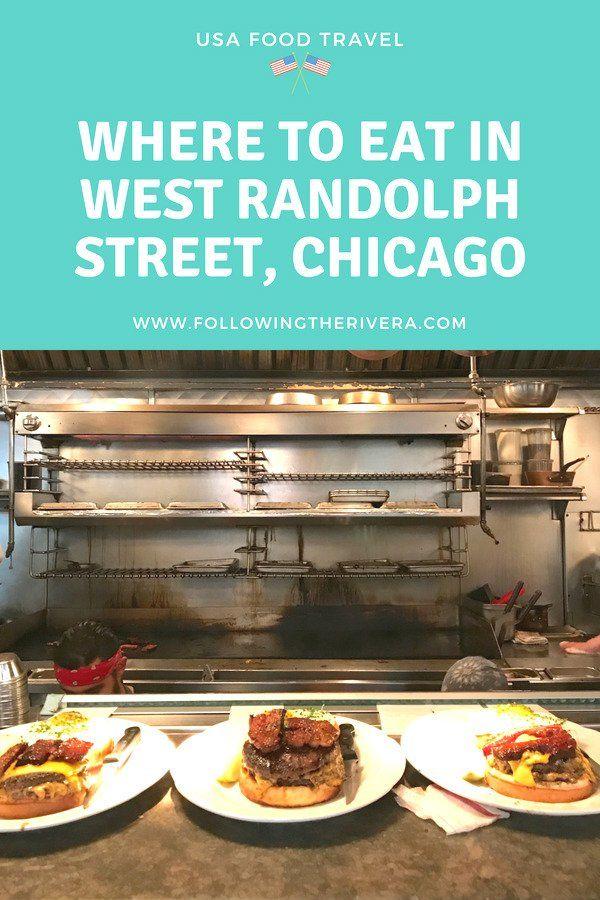 Fulton Market restaurants where to eat near Randolph
