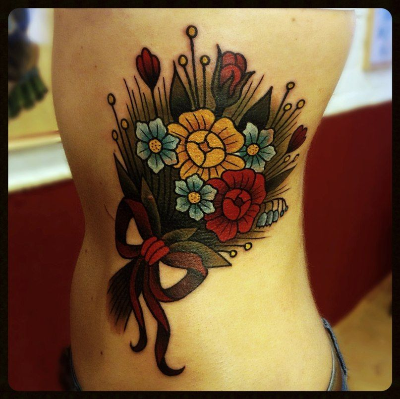 Flower Tattoo Gallery Part 12 #tattoo #flower #flowertattoo #flowers #tattoos
