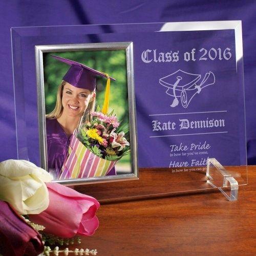 take pride graduation beveled glass picture frame graduation