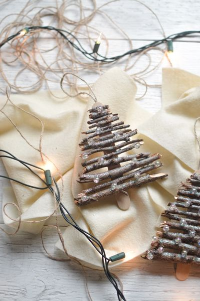 Rustic Tree Ornaments