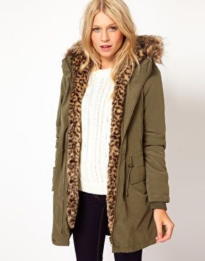 5df5001e39d8 Enlarge Oasis Parka With Leopard Fur Lining | get in my closet ...