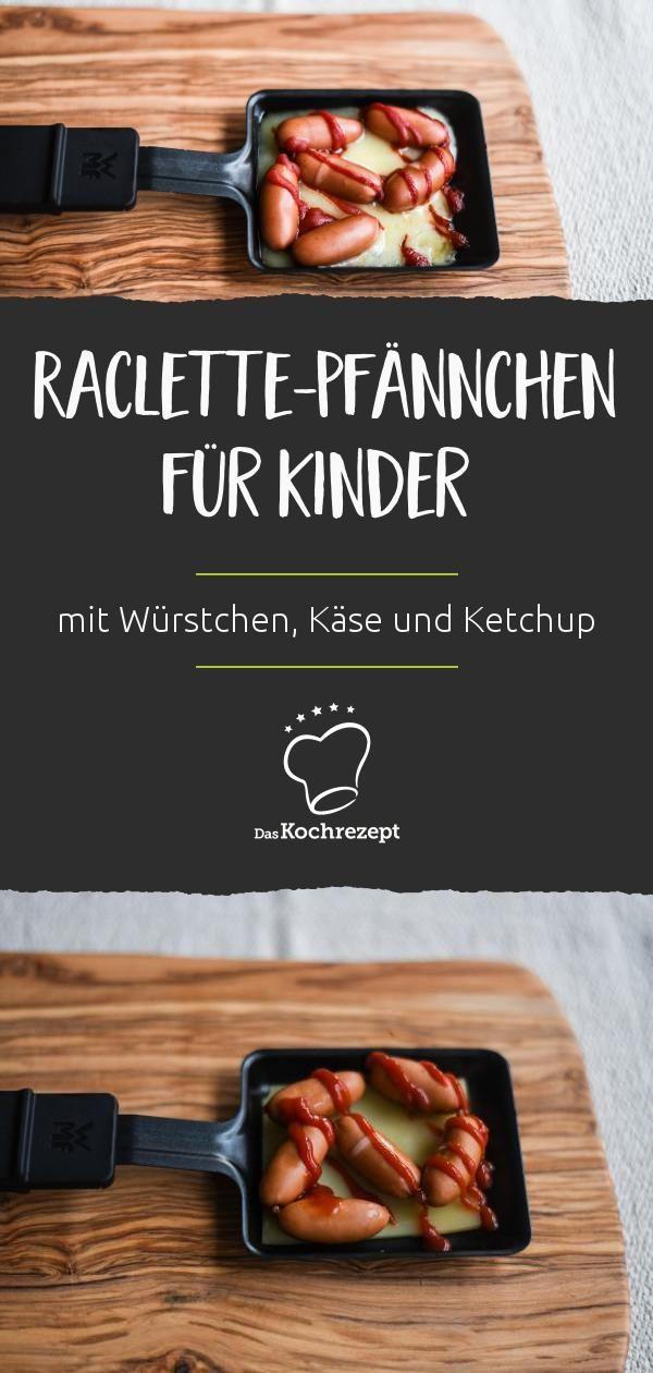 Raclette-Pfännchen für Kinder - Raclette Ideen #racletteideen