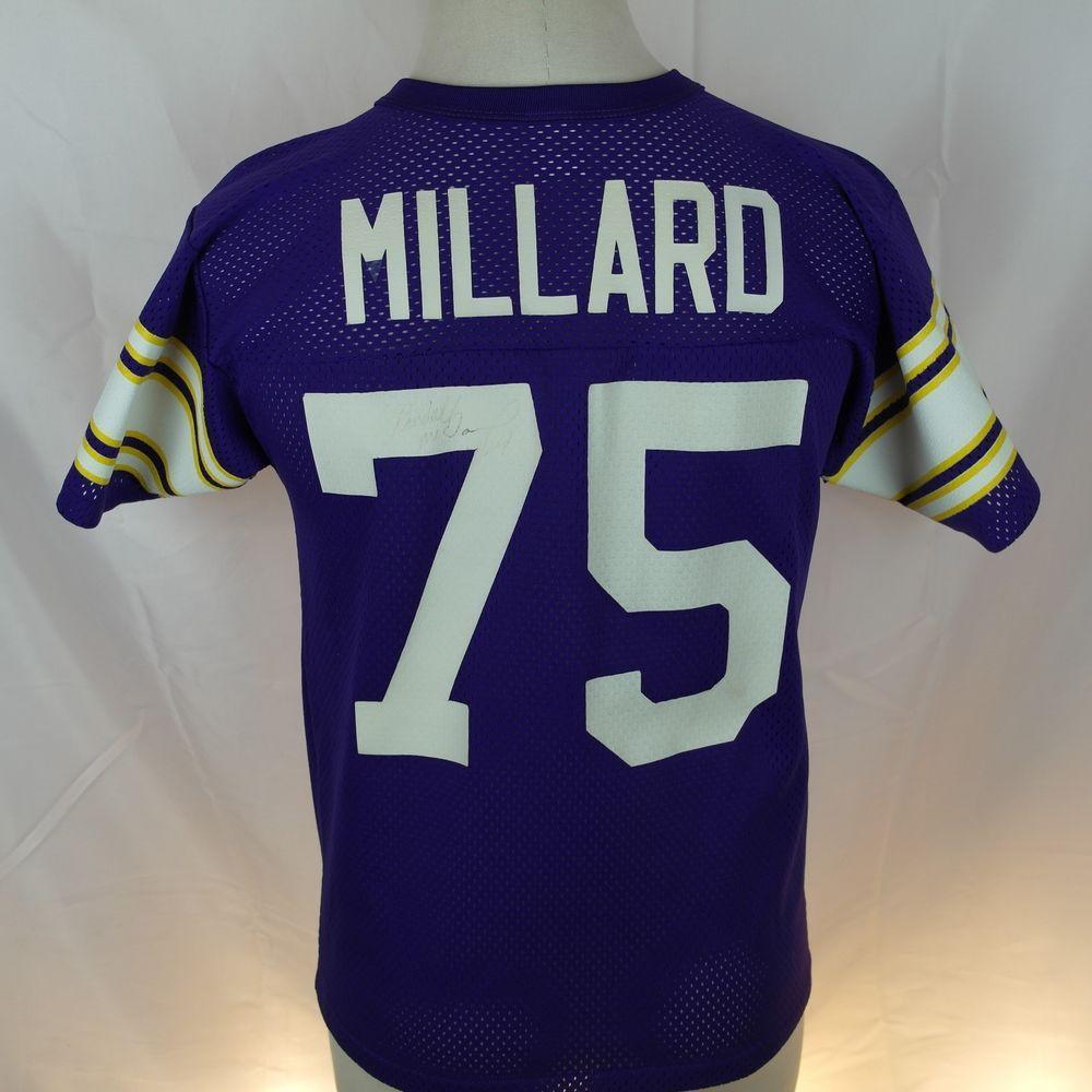 Vintage Keith Millard MN Vikings Minnesota NFL Football Jersey - Extra  Large XL  Reebok  MinnesotaVikings 3150e5679