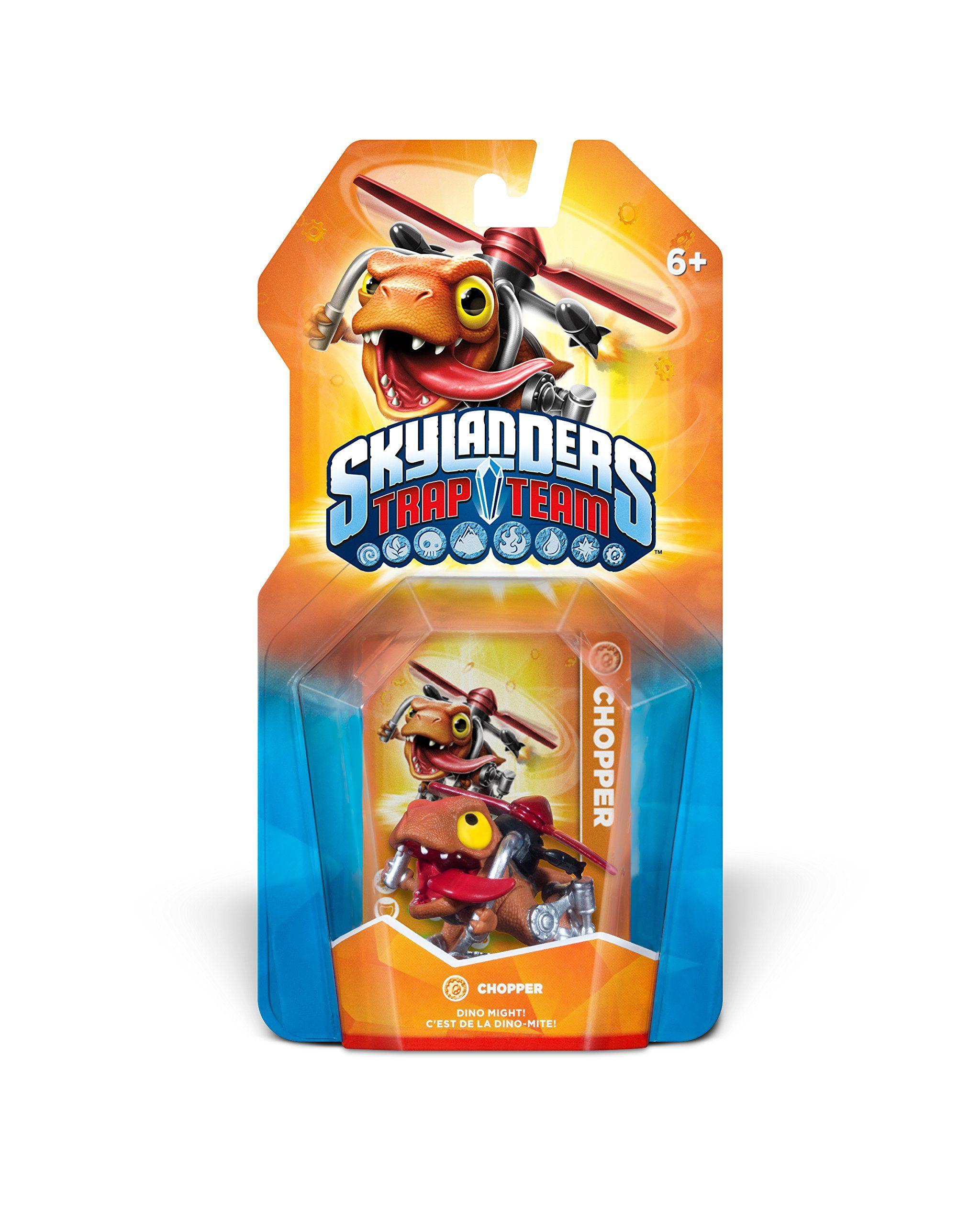 Amazon.com: Skylanders Trap Team: Chopper Character Pack: Video Games