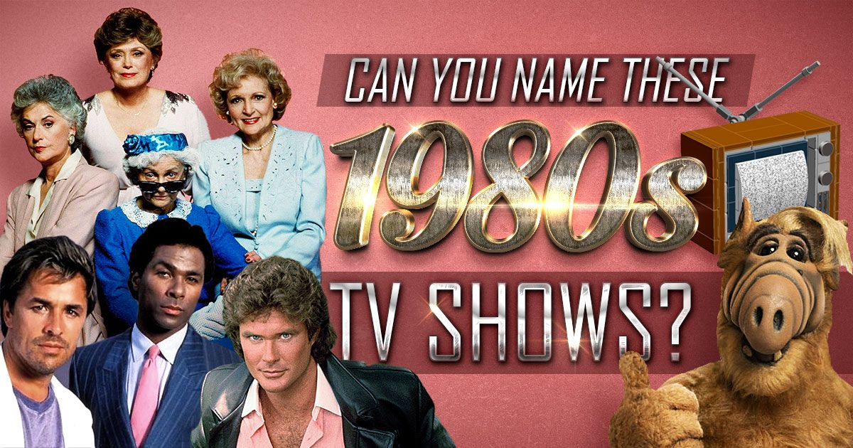 Can you name these 1980s tv shows easy level 1980s tv