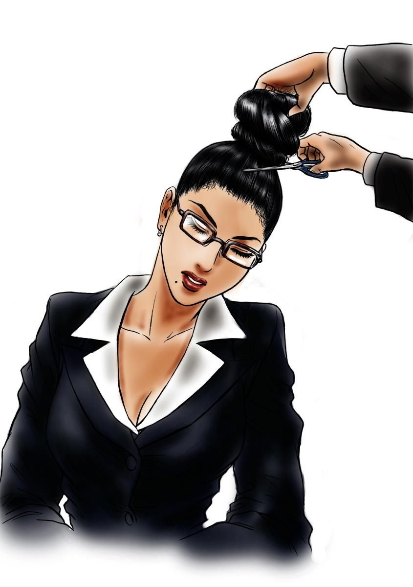 short hair girl sex forced