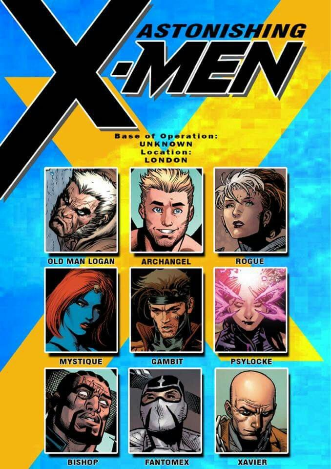 Astonishing X Men Characters Info Portfolio X Men Marvel And Dc Characters Marvel Superheroes Marvel Comic Universe