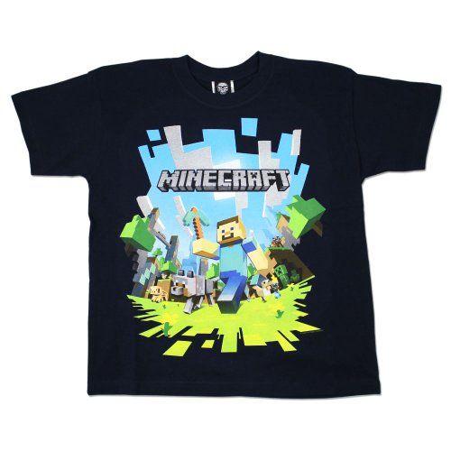 14cca0f08 Minecraft - Camiseta de manga corta - para niño multicolor multicolor 11  años  regalo  arte  geek  camiseta