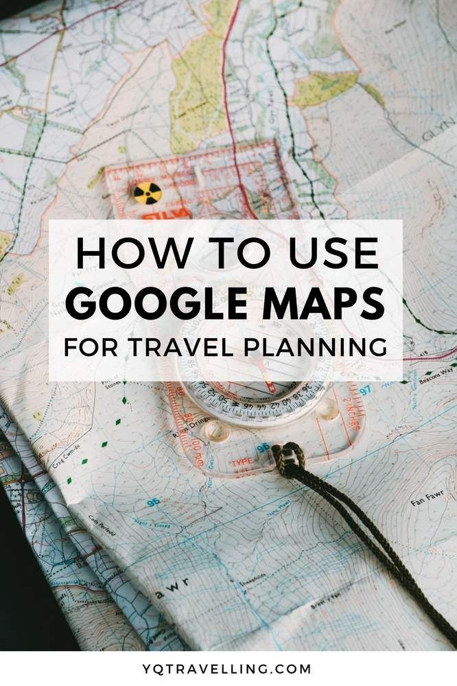 How To Plan A Trip On Google Maps Pinterest Destinations Road - Google trip planner map
