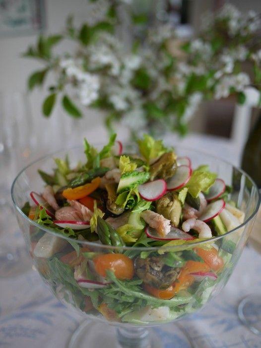 Itärannikon salaatti+rhode island kastike