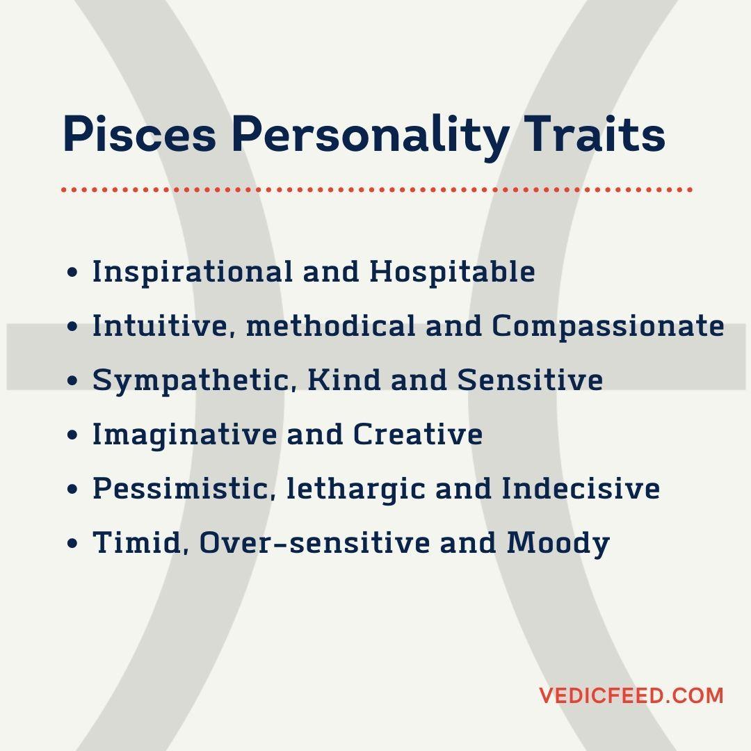 Meena Rashi Characteristics Personality Traits Of Pisces In 2020 Pisces Characteristics Pisces Personality Pisces Personality Traits