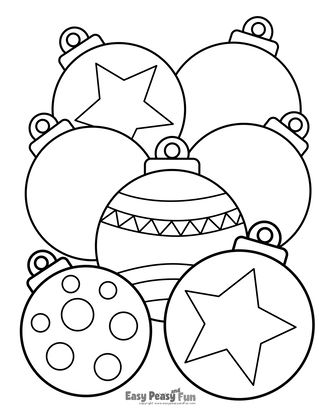 Christmas Coloring Pages Easy Peasy And Fun Christmas Coloring Pages Christmas Colors Printable Christmas Coloring Pages