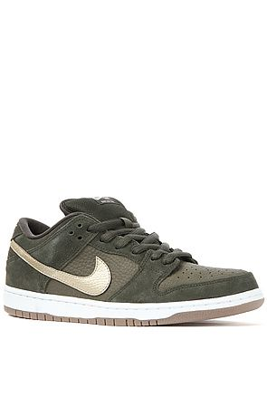 detailed look 90861 c0004 The Nike Dunk Low Pro SB in Sequoia, Metallic Zinc, White, and Dark Brown  by Nike SB