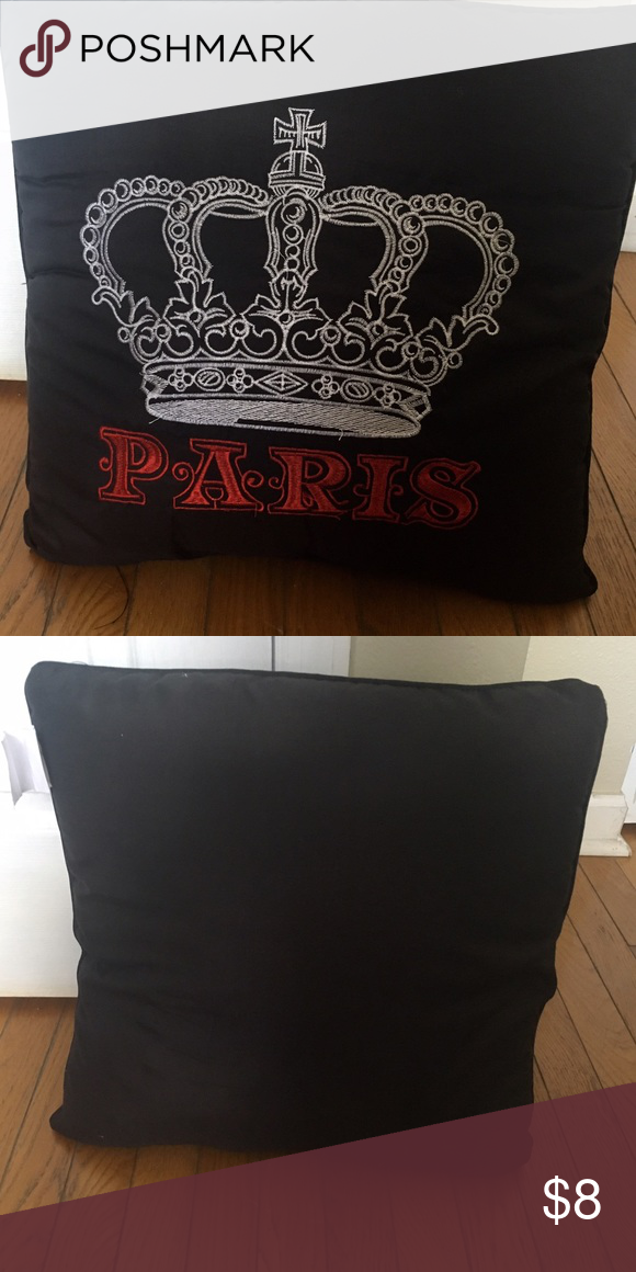 Paris pillow New, very cute Other