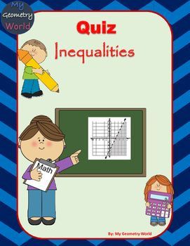 Use this quiz as a checkpoint to check for student understanding and progress over graphing linear inequalities.  This quiz can give immediate feedback to the students so they know what they understand and what they need additional help on.