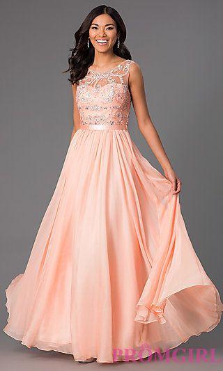 PromGirl.com Dresses Orange
