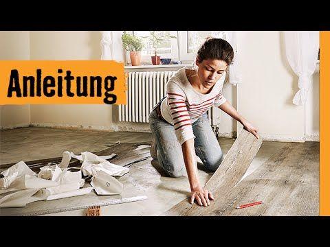 Vinylboden selbstklebend verlegen | HORNBACH Meisterschmiede ...
