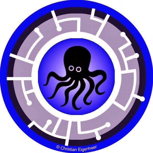 Wild Kratts Creature Power Discs Template Disk 23