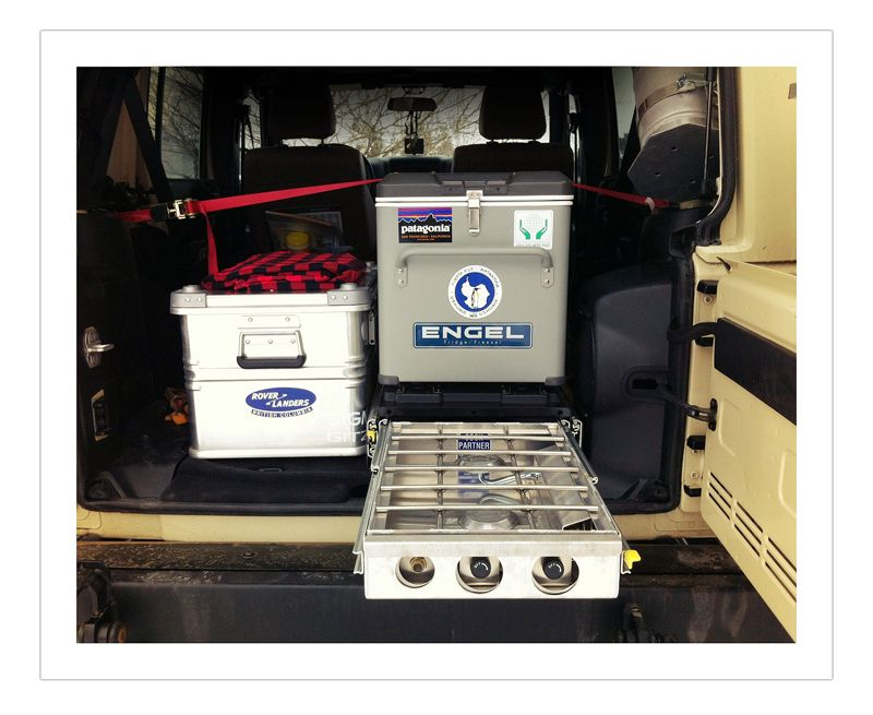 Engel Und Partner engel 35 fridge partner steel stove on slide fj cruiser