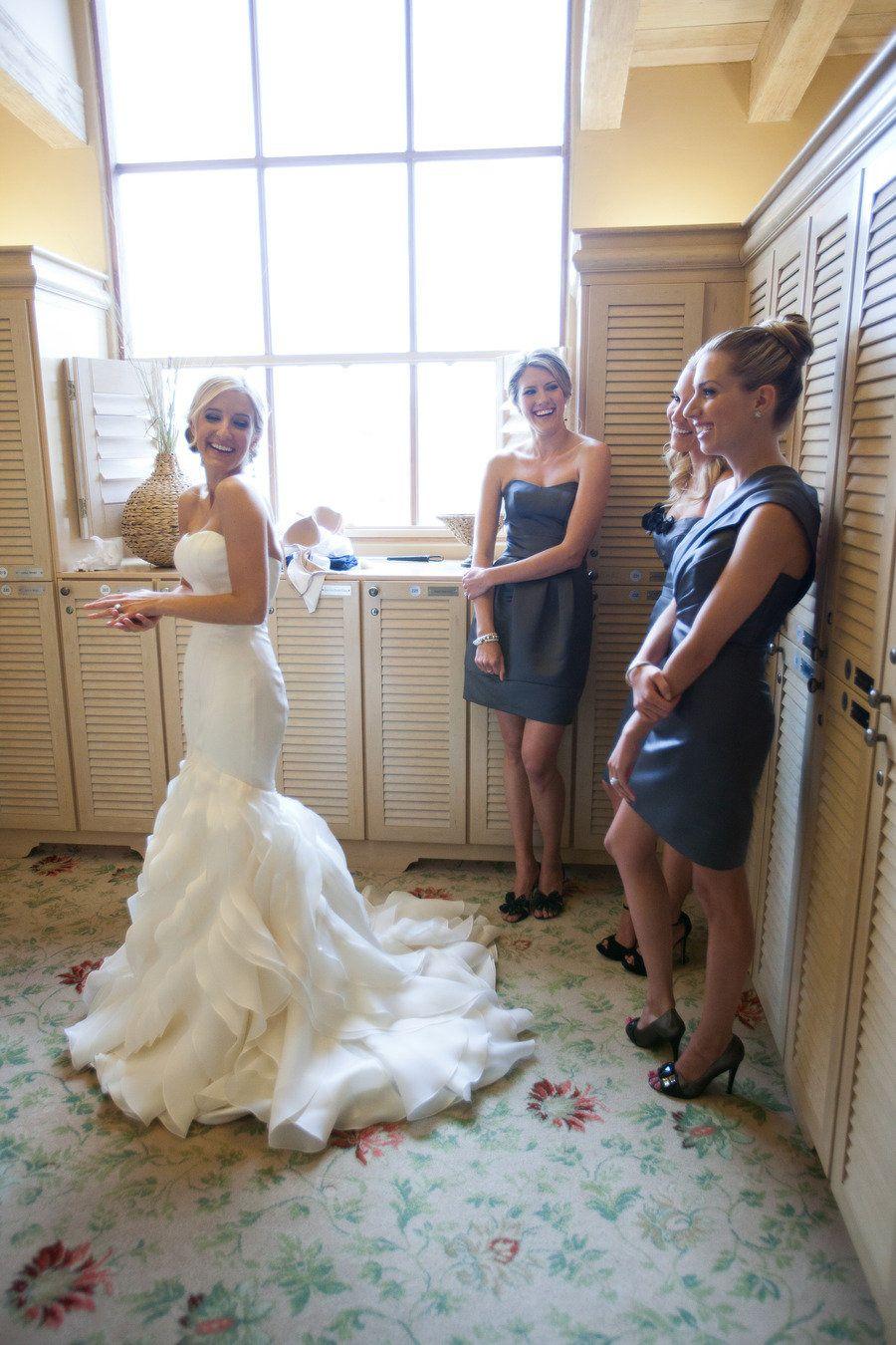 Ruffled Mermaid Wedding Gown LOVE This Dress