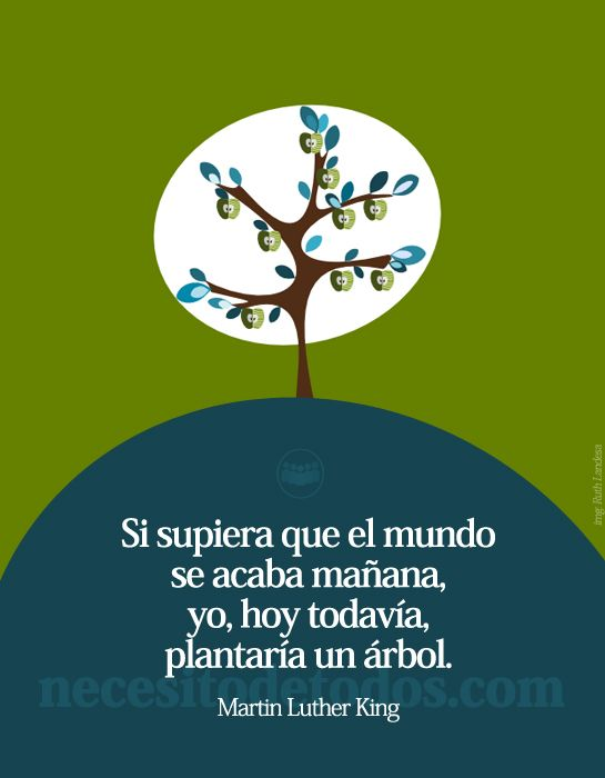 Esperanza Frase Martin Luther Necesitodetodos Frases Naturaleza Frases Ambientales Frases