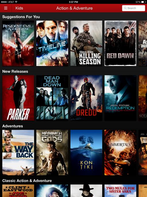 Netflix Action adventure, Man down, Dead man