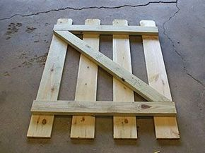 Building A Small Gate For A Backyard Fence | gate | Pinterest ...