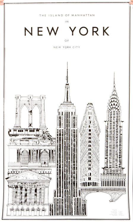 Photo Britta Nickel New York Poster New York Art New York