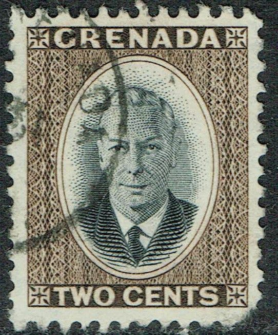 Grenada 1951 Definitive 2c Black and Brown SG174 GU Listing in the Grenada,Grenada (up to 1974),Commonwealth & British Colonial,Stamps Category on eBid United Kingdom
